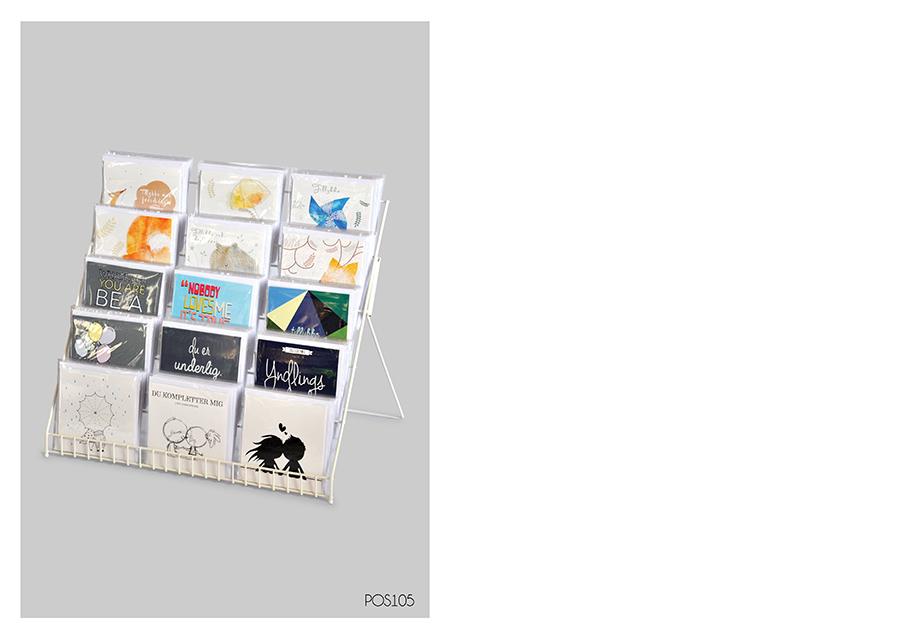display til kort